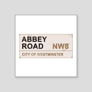 """Abbey Road LONDON Pro Square Sticker 3"""" x 3"""""""