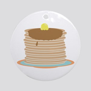 Pancakes Ornament (Round)