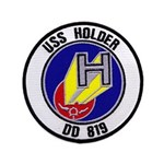 USS HOLDER Button