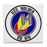 USS HOLDER Tile Coaster