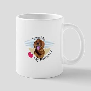 Love Me Retriever Mugs