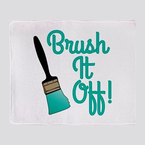 Brush It Off Throw Blanket