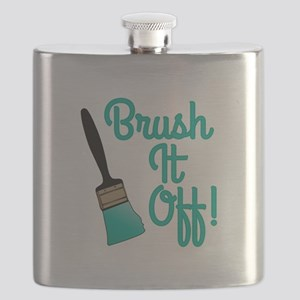 Brush It Off Flask