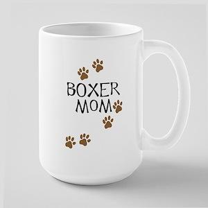Boxer Mom Large Mug