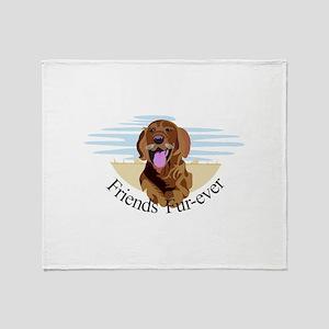 Friends Fur-Ever Throw Blanket