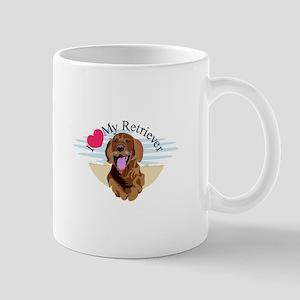 Love My Retriever Mugs