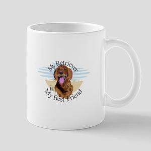 Best Friend Retriever Mugs