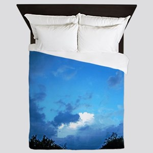 See the Light Through the Clouds Queen Duvet
