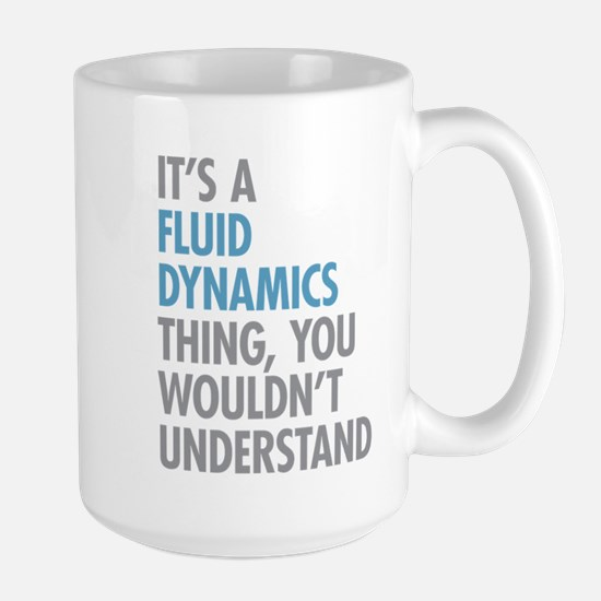 Fluid Dynamics Thing Mugs