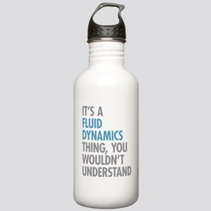 Fluid Dynamics Thing Stainless Water Bottle 1.0L
