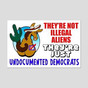 """Undocumented Democrats"" Poster"
