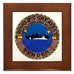 USS HOLLAND Framed Tile