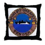 USS HOLLAND Throw Pillow