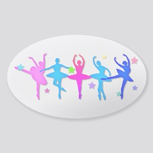 Ballet Sillouettes Sticker
