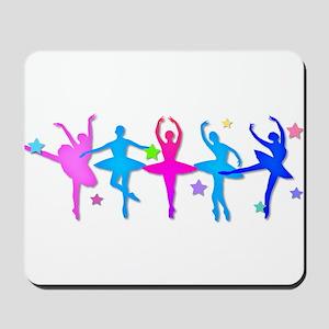 Ballet Sillouettes Mousepad