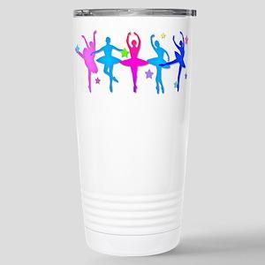 Ballet Sillouettes Travel Mug