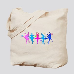 Ballet Sillouettes Tote Bag