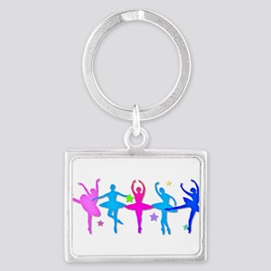 Ballet Sillouettes Keychains