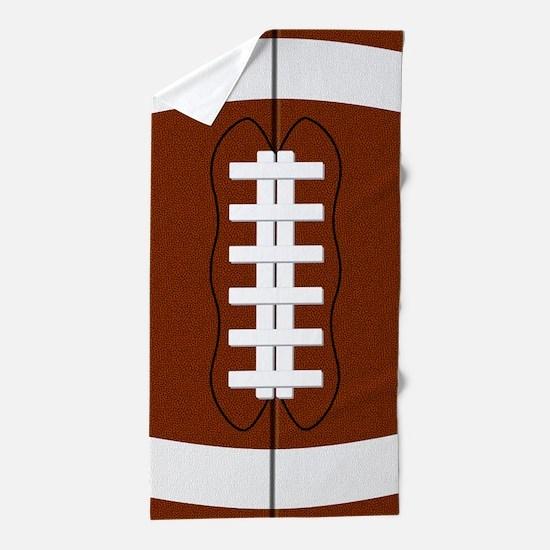 Football Beach Towel