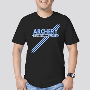 Archery Dad Men's Fitted T-Shirt (dark)