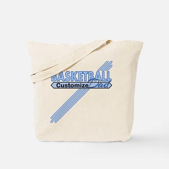 Basketball Dad Tote Bag