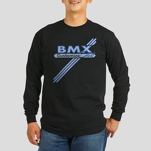 BMX Dad Long Sleeve Dark T-Shirt