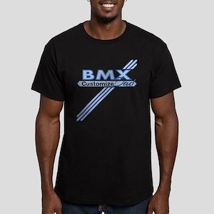 BMX Dad Men's Fitted T-Shirt (dark)