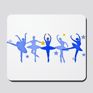 Blue Ballet Mousepad