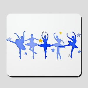 Blue Ballet Mousepad