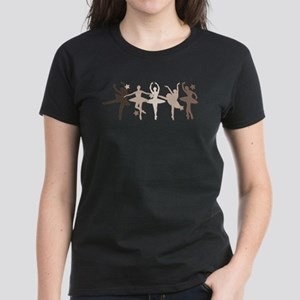 Sepia Dancers Women's Dark T-Shirt
