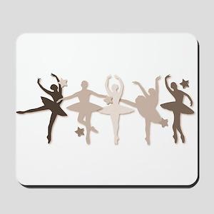 Sepia Dancers Mousepad