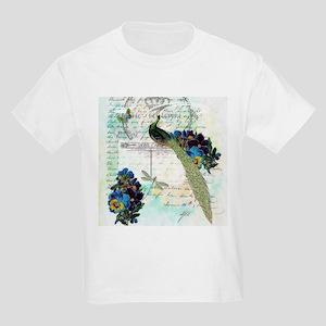 Vintage teal peaock T-Shirt
