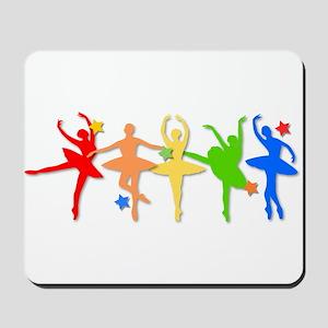 Rainbow Dancers Mousepad