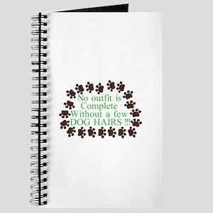 A Few Dog Hairs Journal