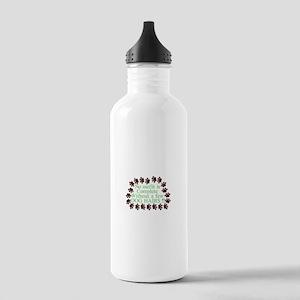 A Few Dog Hairs Water Bottle