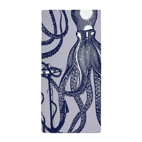awesome beach towels. Awesome Vintage Indigo Octopus Beach Towel Towels