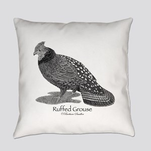 Ruffed Grouse Everyday Pillow