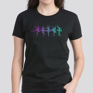 Ballet Lines Women's Dark T-Shirt
