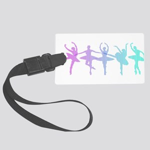 Ballet Lines Large Luggage Tag
