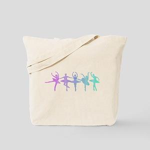 Ballet Lines Tote Bag