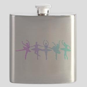Ballet Lines Flask