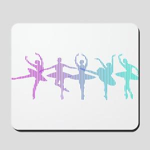 Ballet Lines Mousepad