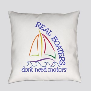 Real Boaters Everyday Pillow