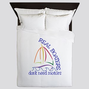 Real Boaters Queen Duvet