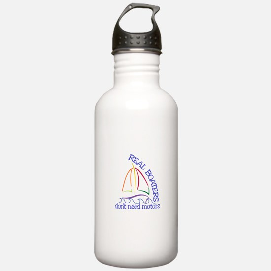 Real Boaters Water Bottle