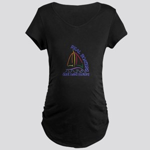 Real Boaters Maternity T-Shirt