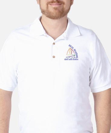 Real Boaters Golf Shirt