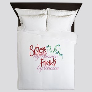 Sisters by Chance Queen Duvet