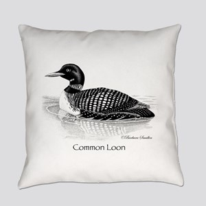 Common Loon Everyday Pillow