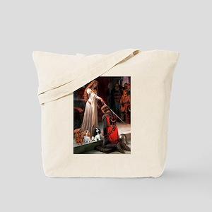 The Accolade & Cavalier King Trio Tote Bag